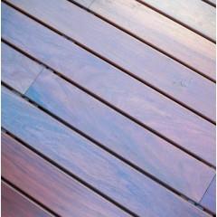"""Deck de Curupay - 1"""" x 4"""" x 1,50 a 3,50 m (Sin Nudos y DH)"""