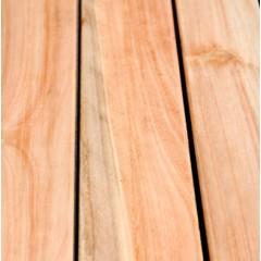 "Deck Eucaliptus Grandis - Country - 1"" x 4"" x 1,22 a 3,05 mts."