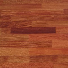 Piso Ingenieril - Jatobá - 3.6 mm capa madera noble - 2/3 Lamas