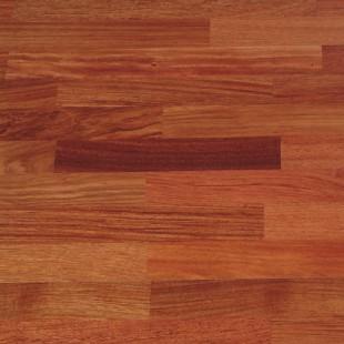 Piso Ingenieril - Jatobá - 3.6 mm capa madera noble - 2/3 Lamas