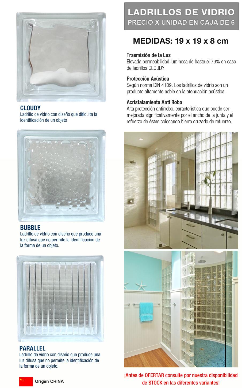 Colocar bloques de vidrio simple affordable separador para ladrillo de vidrio plastico cm - Como colocar ladrillos de vidrio ...